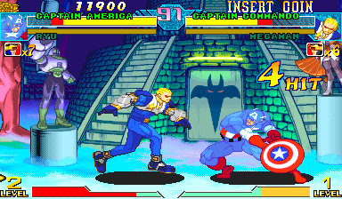 Marvel Vs. Capcom: Clash of Super Heroes (Hispanic 980123) Screenshot