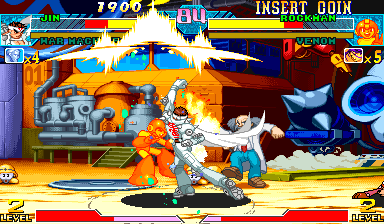 Marvel Vs. Capcom: Clash of Super Heroes (Japan 980123) Screenshot