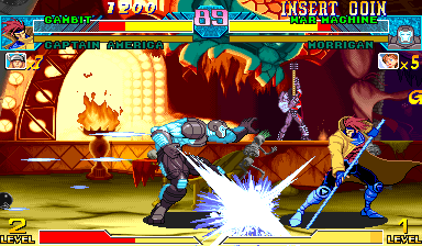 Marvel Vs. Capcom: Clash of Super Heroes (USA 980123) Screenshot