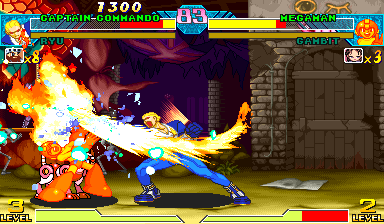 Marvel Vs. Capcom: Clash of Super Heroes (USA 971222) Screenshot