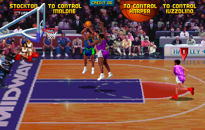 NBA Jam (rev 3.01 04/07/93) Screenshot