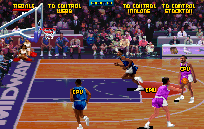 NBA Jam (rev 2.00 02/10/93) Screenshot