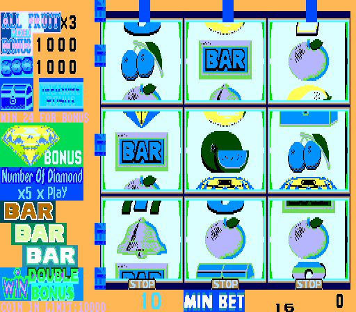 New Fruit Machine (Ming-Yang Electronic) Screenshot