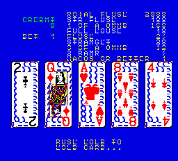 Jack Potten's Poker (NGold, set 3) Screenshot