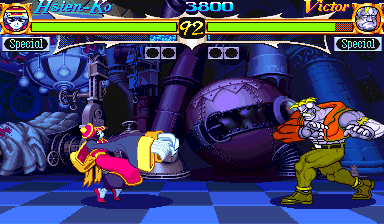 Night Warriors: Darkstalkers' Revenge (Brazil 950403) Screenshot