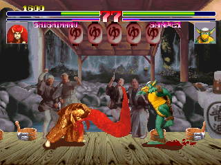 Oedo Fight (Japan Bloodshed Ver.) Screenshot