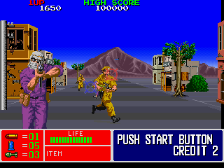 Operation Thunderbolt (Japan) Screenshot