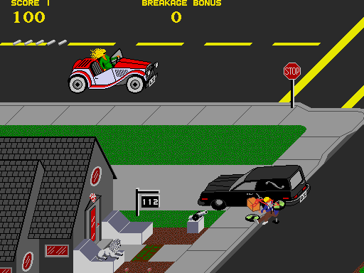 Paperboy (rev 1) Screenshot