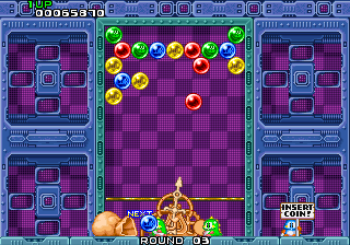 Puzzle Bobble (Japan, B-System) Screenshot