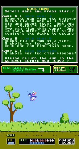 Duck Hunt (PlayChoice-10) Screenshot
