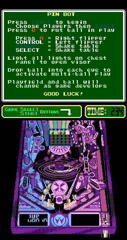 PinBot (PlayChoice-10) Screenshot