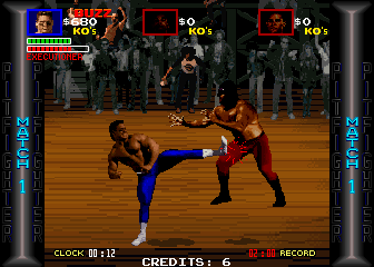 Pit Fighter (rev 9) Screenshot