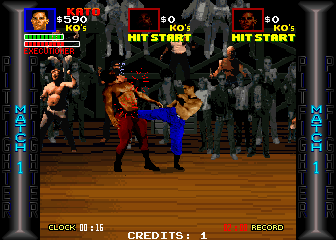 Pit Fighter (rev 4) Screenshot