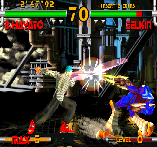 Plasma Sword: Nightmare of Bilstein (USA 980316) Screenshot