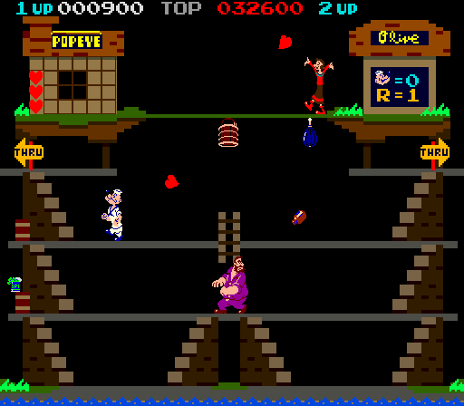 Popeye (revision D) Screenshot