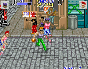 Punk Shot (US 2 Players) Screenshot