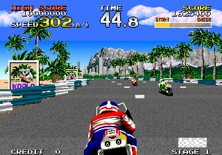 Racing Hero (FD1094 317-0144) Screenshot