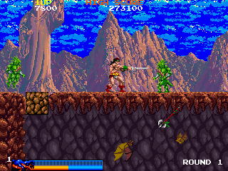 Rastan (US Rev 1) Screenshot