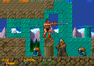 Rastan Saga 2 (Japan) Screenshot