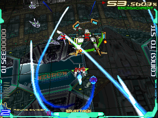 Ray Crisis (V2.03J 1998/11/15 15:43) Screenshot