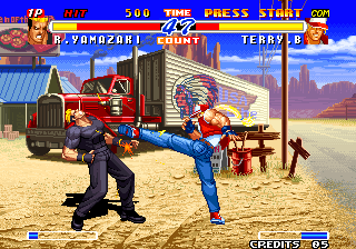 Real Bout Fatal Fury 2 - The Newcomers / Real Bout Garou Densetsu 2 - The Newcomers (NGH-2400) Screenshot