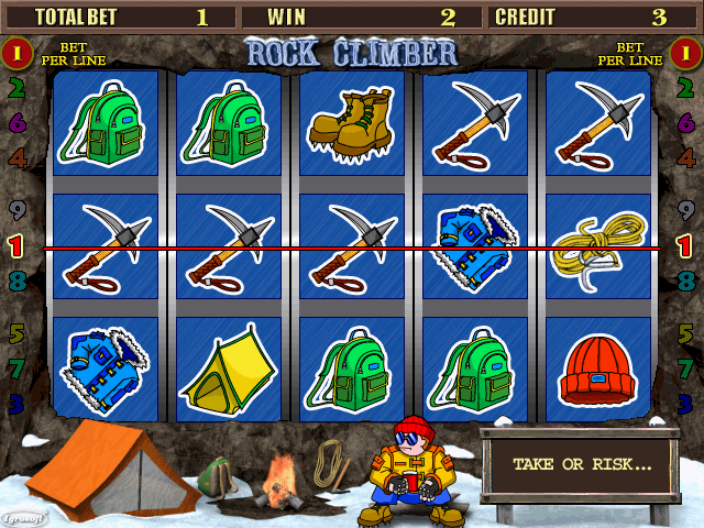 Rock Climber (bootleg, 040827, new service menu) Screenshot