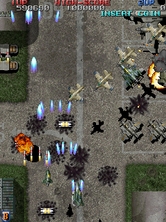 Raiden Fighters 2 - Operation Hell Dive (US, single board) Screenshot