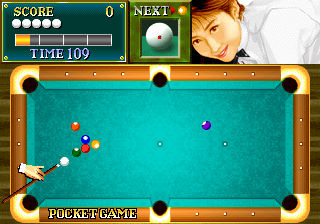 Billiard Academy Real Break (Europe) Screenshot