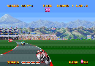Riding Hero (NGM-006 ~ NGH-006) Screenshot