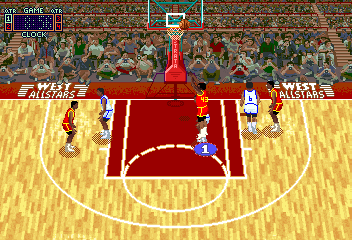 Rim Rockin' Basketball (V2.2) Screenshot
