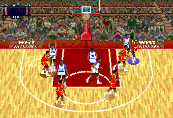 Rim Rockin' Basketball (V2.0) Screenshot