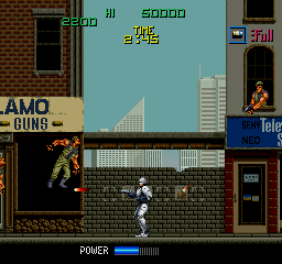 Robocop (US revision 1) Screenshot