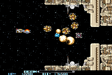 R-Type II (Japan, revision C) Screenshot