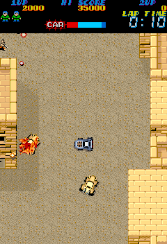 Rush & Crash (Japan) Screenshot