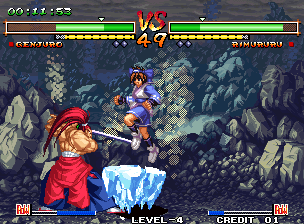 Samurai Shodown V Special / Samurai Spirits Zero Special (NGH-2720, 2nd release, less censored) Screenshot