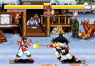 Samurai Shodown / Samurai Spirits (Set 1) Screenshot