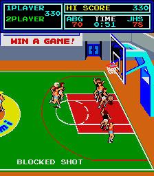 Super Basketball (version H, unprotected) Screenshot
