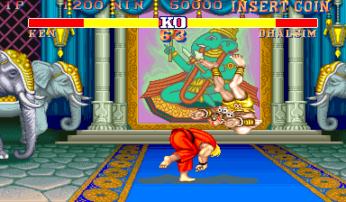 Street Fighter II': Champion Edition (World 920313) Screenshot