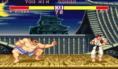 Street Fighter II': Champion Edition (US 920313) Screenshot