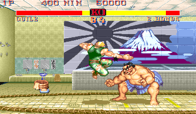 Street Fighter II': Champion Edition (US 920513) Screenshot