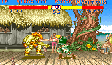Street Fighter II: The World Warrior (World 910228) Screenshot