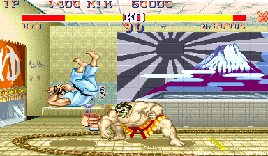 Street Fighter II': Hyper Fighting (USA 921209) Screenshot