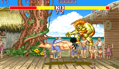 Street Fighter II: The World Warrior (Japan 911210) Screenshot