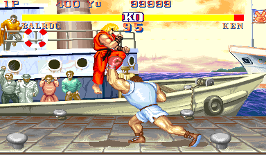 Street Fighter II': Champion Edition (Kouryu) Screenshot