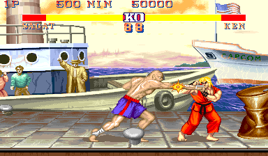Street Fighter II': Champion Edition (M2, bootleg) Screenshot