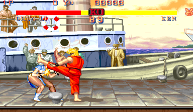 Street Fighter II': Champion Edition (M6) Screenshot