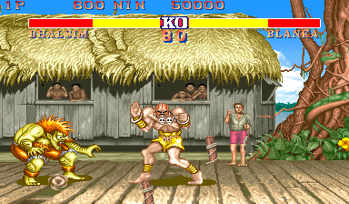 Street Fighter II: The World Warrior (US 910206) Screenshot