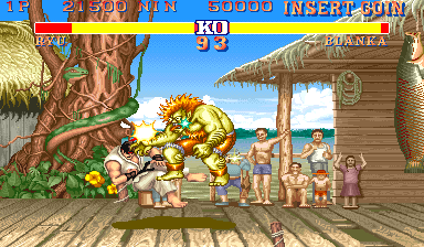Street Fighter II: The World Warrior (USA 911101) Screenshot