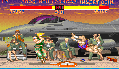 Street Fighter II': Champion Edition (V004, bootleg) Screenshot
