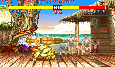 Street Fighter II': Champion Edition (YYC) Screenshot